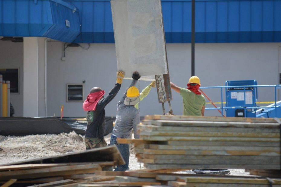 règles à suivre pour la sécurité d'un chantier