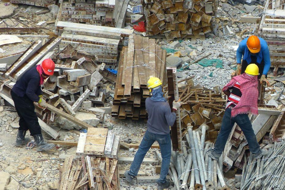 exécution des chantiers